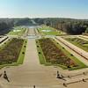Château de Vaux-le-Vicomte - La perspective du parc
