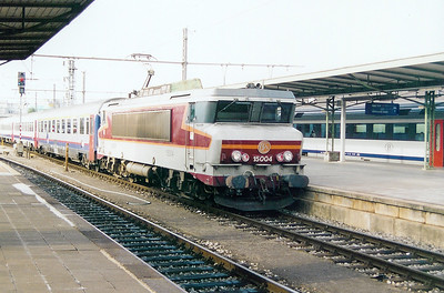 SNCF, 15004 at Luxembourg on 31st August 2003
