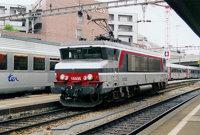 SNCF, 15035 at Basel on 30th August 2003