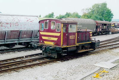 1022 at Petange on 1st September 2003