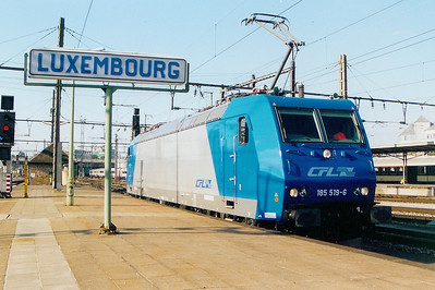 185 519 at Luxembourg on 1st September 2003