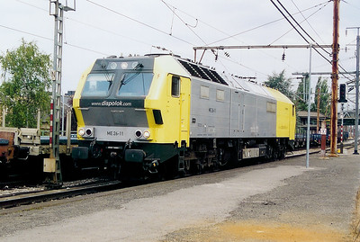 Dispolok, ME26 11 at Esch Sur Alzette on 1st September 2003 (1)