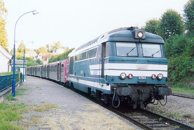 67513 at Niederbronn Les Bains on 2nd September 2003