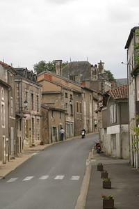 The Village of Sommières-du-Clain