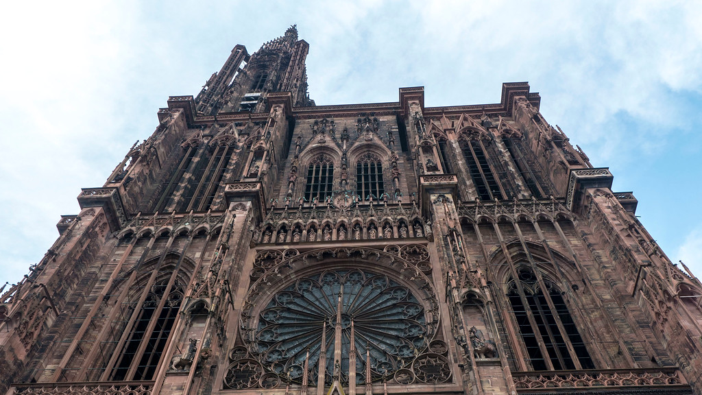 Top Things to do in Strasbourg France: Cathedral Notre Dame Strasbourg France