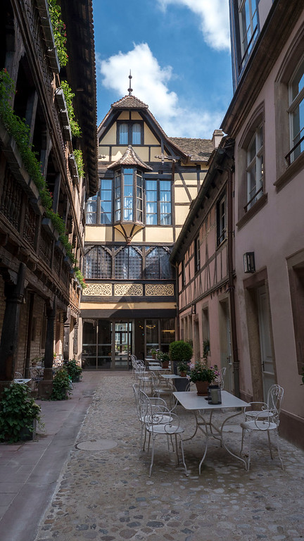 Where to stay in Strasbourg - Mgallery Cour du Corbeau hotel