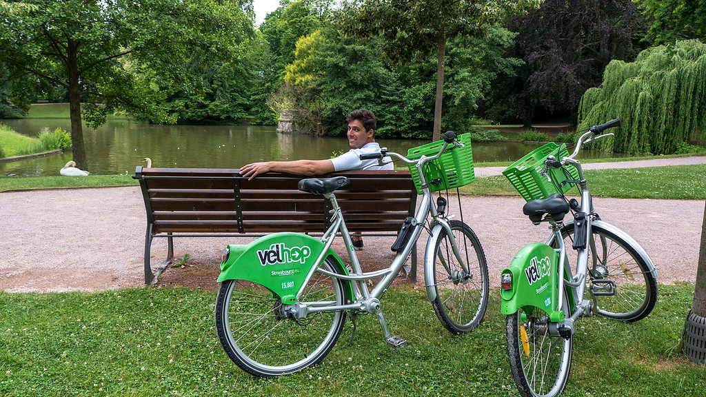 Top Things to do in Strasbourg France: Riding bicycles