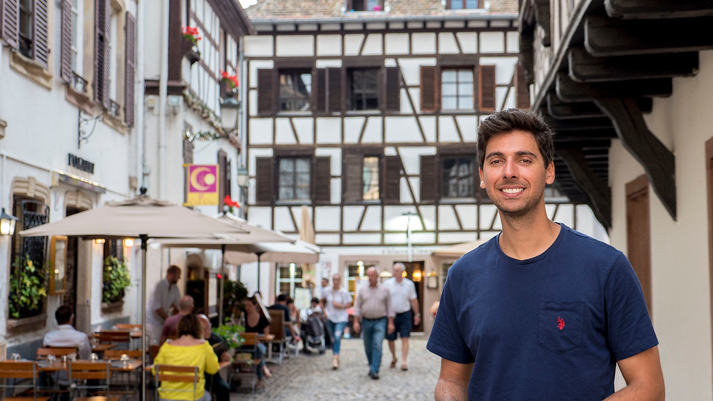 Top Things to do in Strasbourg France: Justin in Petite France