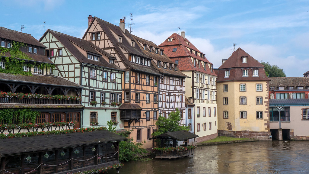 Top Things to do in Strasbourg France: Petite France - colorful houses