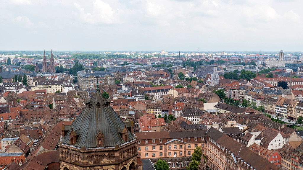 Top Things to do in Strasbourg France: Top of the Strasbourg Cathedral