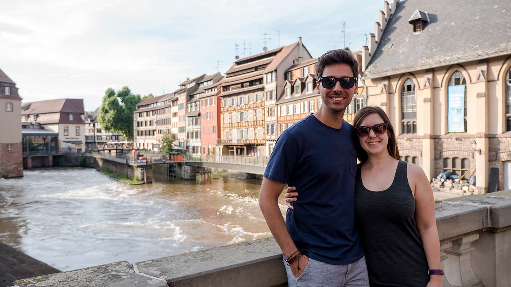 Top Things to do in Strasbourg France: Justin Plus Lauren in Petite France