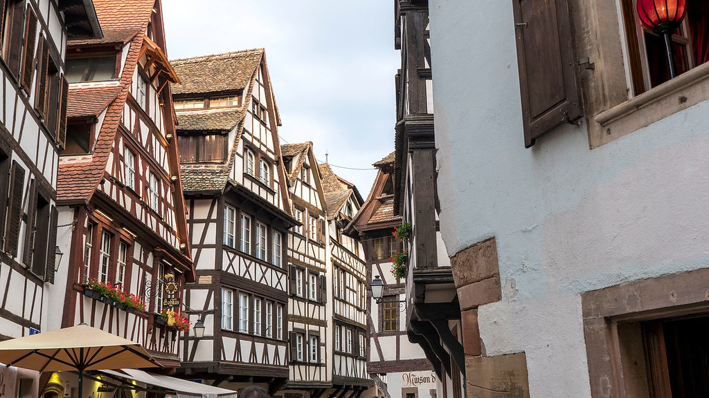Top Things to do in Strasbourg France: Half timbered buildings