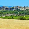 Fields around Carcassonne