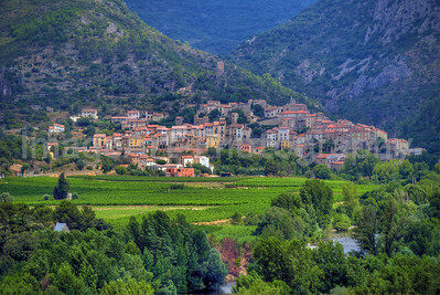 The Village of Roquebrun