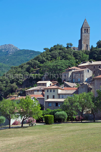 Medieval town of Olargues
