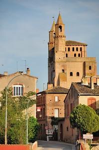Rabastens - Eglise Notre-Dame-du-Bourg, sur la route de Saint-Jacques-de-Compostelle