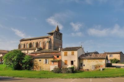 Giroussens - Eglise Saint-Salvy