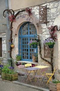Lauzerte - Rue du Marché - Atelier d'enluminure
