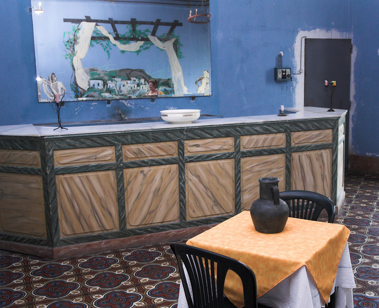 This is the bar where you could enjoy an apéritif before your meal or have a beer between dances.
