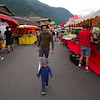At Les Contamines' weekly market