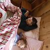 Afternoon nap at Rifugio Bertone