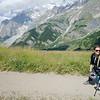 Climbing to Rifugio Bertone