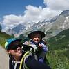 On the climb up to Rifugio Bertone