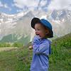 Happy boy on the trail