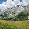 The incredible views on the climb to Rifugio Bertone