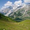 The TMB trail between Rifugio Bertone and Bonatti