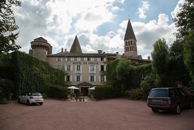 The venerable Hôtel de Greuze, Tournus