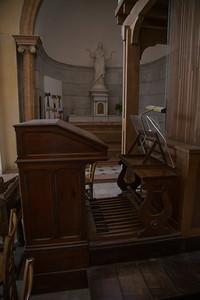 Choir organ by Cavaillé-Coll.  Abbaye de Saint-Philibert, Tournus.