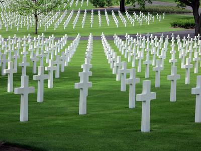 Lorraine WWII Cemetery St Avold France