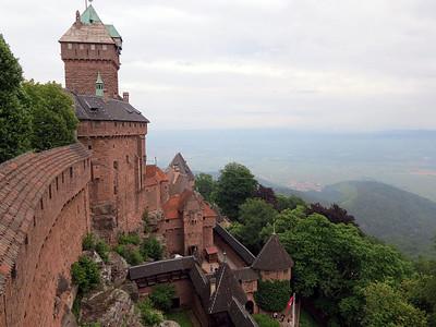 Haut Koenigsbourg Castle 04