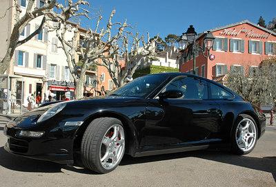 Provence Cassis Porsche Carrerra 4S