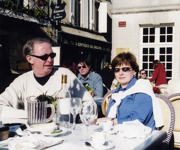 St  Emilion Ed Carol lunch