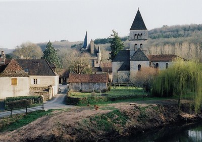 St  Leon Sur Vezere church 06