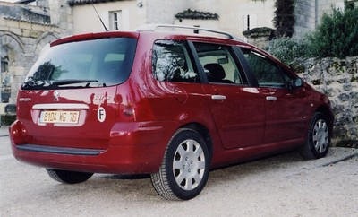 St  Emilion Peugeot 307 SW Break