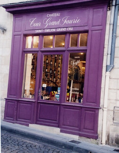 St  Emilion Wine Shop
