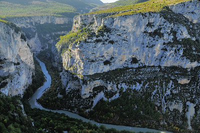 Grand canyon du Verdon - Corniche Sublime