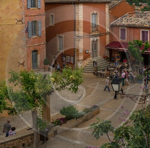 Roussillon Alpes De Haute Provence France Mountain Village Famous Fine Art Photographers Island - 016608 - 25-05-2014 - 6992x6928 Pixel