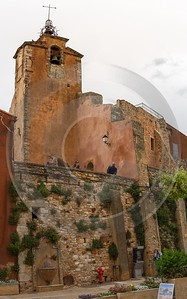 Roussillon Alpes De Haute Provence France Mountain Village Prints Fine Art Prints - 016606 - 25-05-2014 - 7083x11349 Pixel