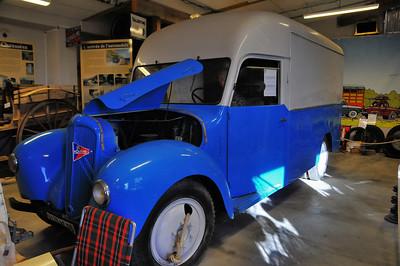 Piolenc - Musée Mémoire de la Nationale 7 - Camion Citroën U23R (1951)