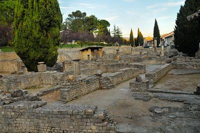Vaison-la-Romaine - Site archéologique de Puymin
