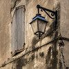 Shuttered Window & Lamp