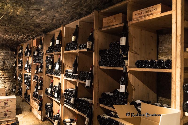 Wine Cellar, Chateauneuf-du-Pape