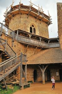 Chantier médiéval de Guédelon - Chapelle