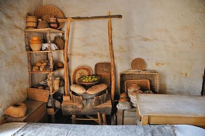 Chantier médiéval de Guédelon - Dans la boulangerie