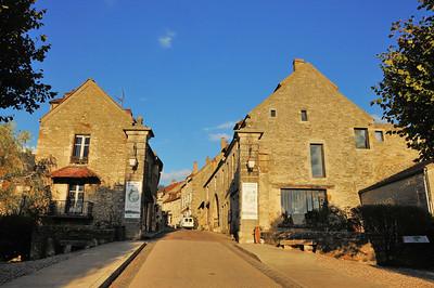 L'entrée à Vézelay