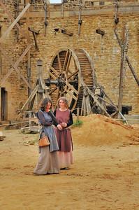 Chantier médiéval de Guédelon - Gentes damoiselles... experte en architecture médiévale